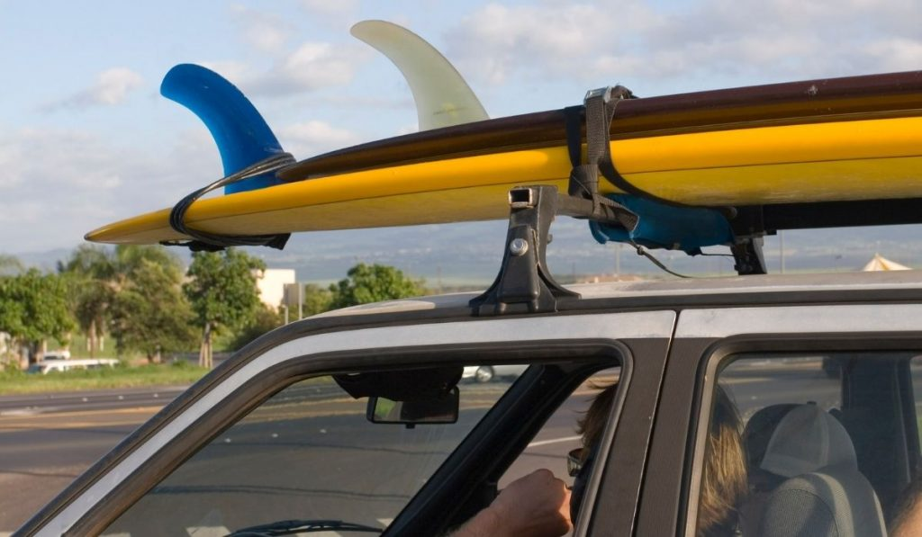 Cars With Surfboard