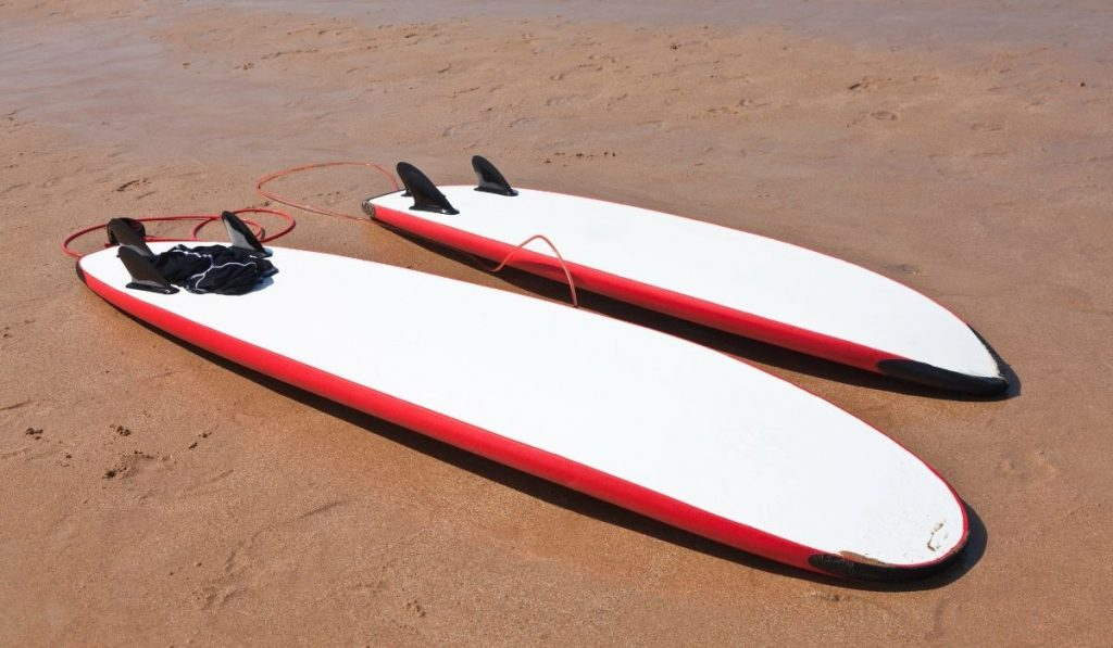Two Surfboard With Different Size