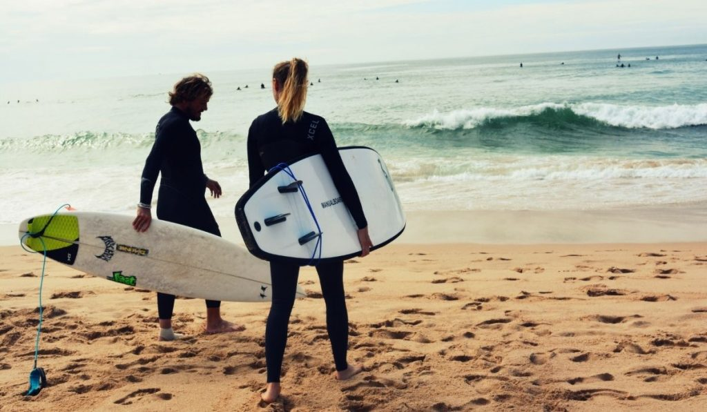 Two Surfer